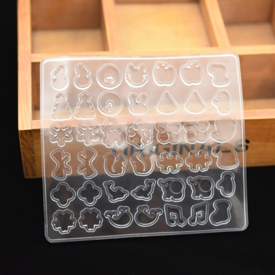 earring beads Silicone Mold for jewelry Resin Silicone Mould handmade DIY epoxy resin molds
