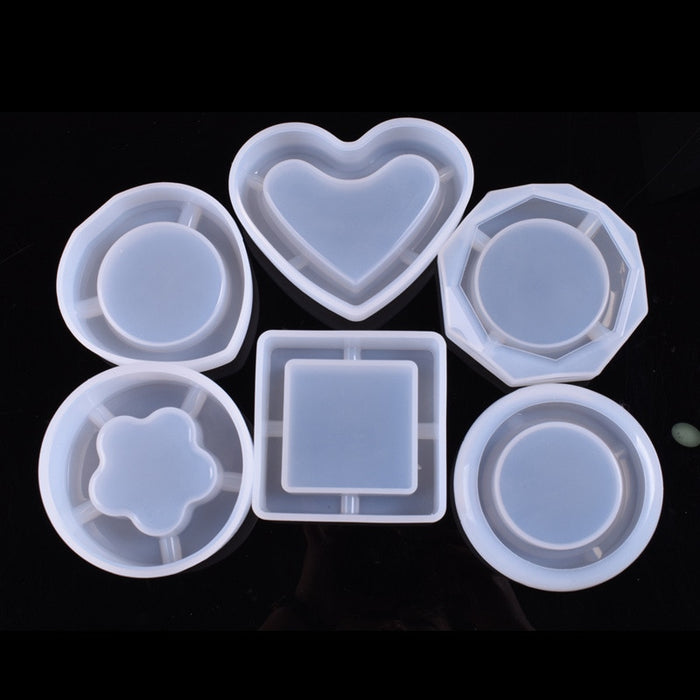 Moroyal DIY resin kit handmade Ashtray Silicone Mold