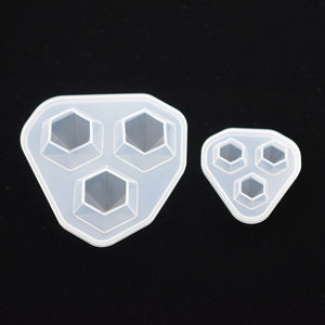 Silicone Mold for jewelry Diamond Pendant Resin epoxy Silicone Mould handmade tool