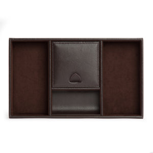 WOLF Blake Valet Tray - Brown