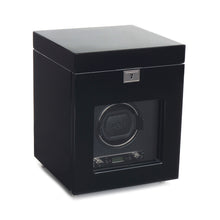 Load image into Gallery viewer, WOLF Savoy Single Winder with Storage - Black