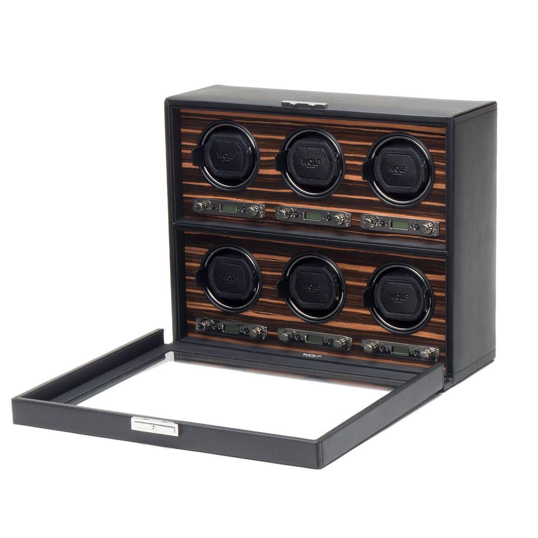 WOLF Roadster 6 Piece Winder - Black