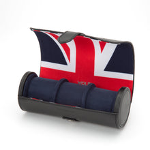 Load image into Gallery viewer, WOLF Navigator Triple Watch Roll - Union Jack