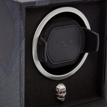 Load image into Gallery viewer, WOLF Memento Mori Cub Watch Winder - Black