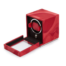 Load image into Gallery viewer, WOLF Memento Mori Cub Watch Winder - Red
