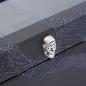 WOLF Memento Mori 10pc Watch Box - Black