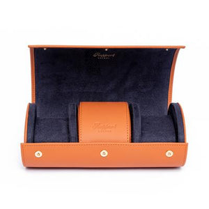 RAPPORT  -  Hyde Park Three Watch Roll  -  Navy