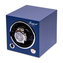 Load image into Gallery viewer, RAPPORT Evo single watch winder - Admiral Blue