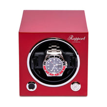 Load image into Gallery viewer, RAPPORT Evo single watch winder - Crimson Red