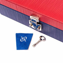 Load image into Gallery viewer, RAPPORT  -  Red And Blue Jewellery Box