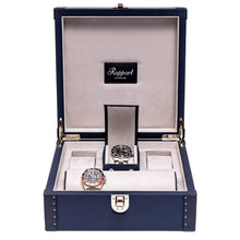 Load image into Gallery viewer, RAPPORT Kensington six watch box - Navy