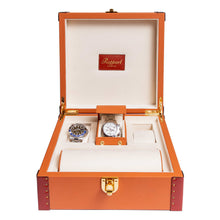 Load image into Gallery viewer, RAPPORT Kensington six watch box - Tan