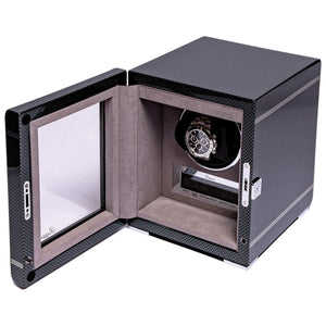 RAPPORT Formula single watch winder - Carbon Fibre
