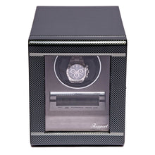Load image into Gallery viewer, RAPPORT Formula single watch winder - Carbon Fibre