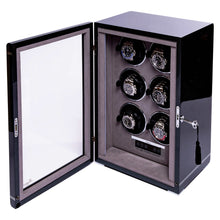 Load image into Gallery viewer, RAPPORT Formula six watch winder - Carbon Fibre