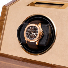 Load image into Gallery viewer, RAPPORT Perpertua III single watch winder - Walnut