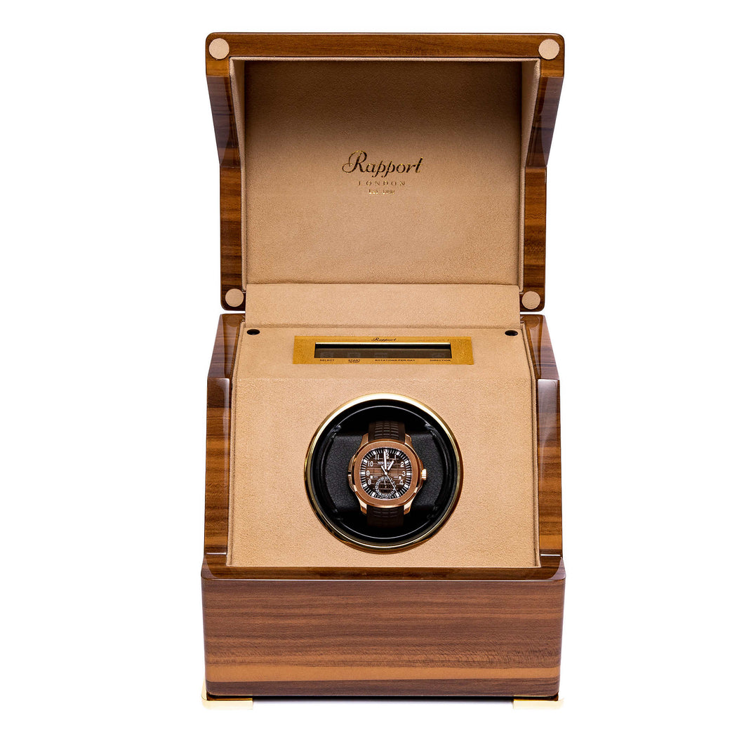 RAPPORT Perpertua III single watch winder - Walnut