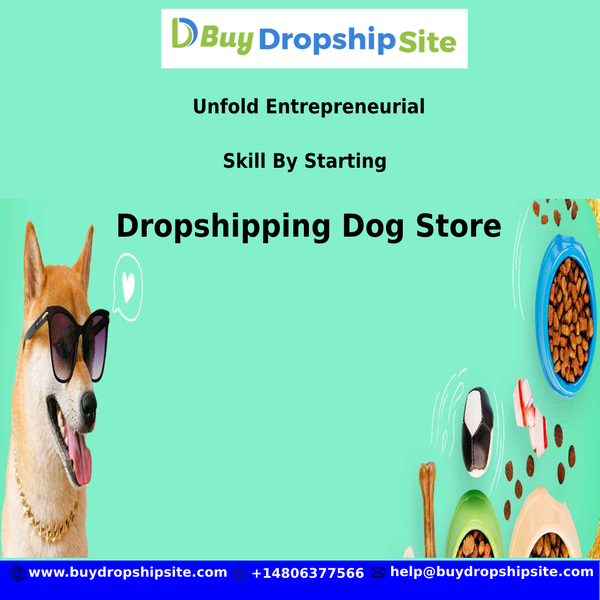 Unfold Entrepreneurial Skill By Starting Dropshipping Dog Store