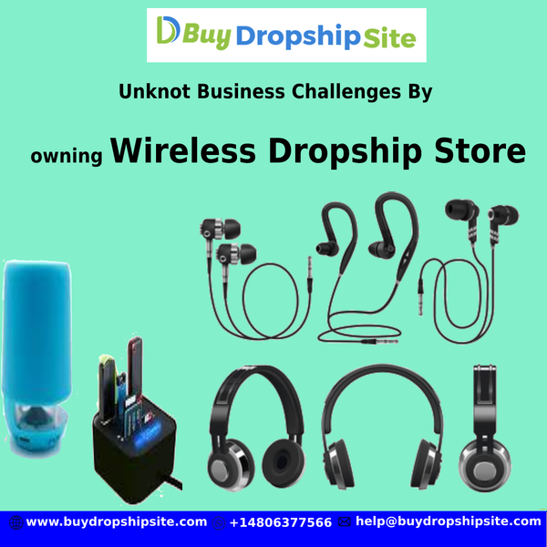 Unknot Business Challenges By owning Wireless Dropship Store