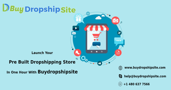 Launch Your Pre Built Dropshipping Store In One Hour With Buydropshipsite