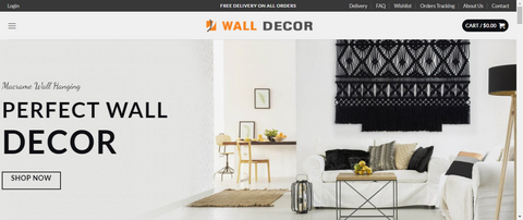Premium Dropshipping WALL DECOR STORE