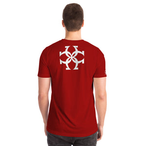 CALIFLORIDA Burgundy Camiseta Unisex