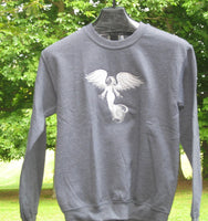 Lace Angel sweatshirt