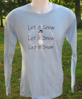 Snow Snow Snow long sleeve t-shirt