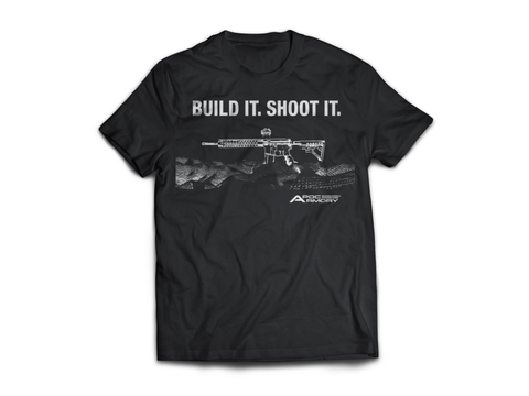 """Build It. Shoot It. Men's T-shirt."""