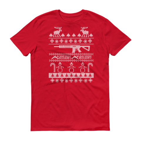 UGLY Christmas Short-Sleeve T-Shirt