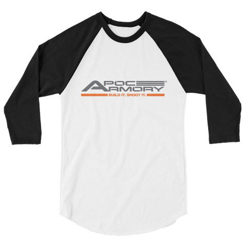 3/4 sleeve raglan shirt