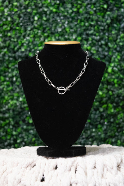 Silver - Love me Knot Necklace - Adami Dolls