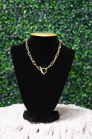 Gold - Love me Knot Necklace - Adami Dolls