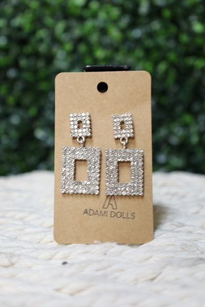 Silver - Leila Earrings