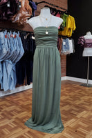 Sage - Sleeveless Maxi Dress - Adami Dolls