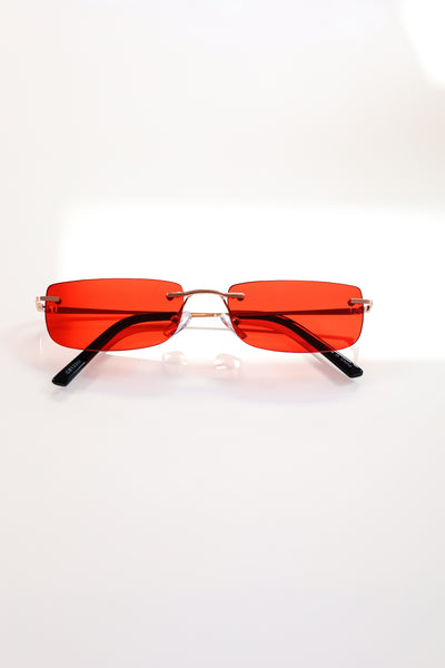 Red - Jackie Glasses