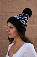 Black - Wild Animal Beanie - Adami Dolls