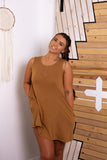 Cognac - Taylor Casual Dress - Adami Dolls