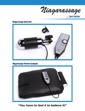 Niagarassage Handheld Cyclo-Therapy Unit