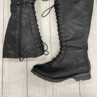 Rock & Candy Knee Boots - BLACK SIZE 8.5.