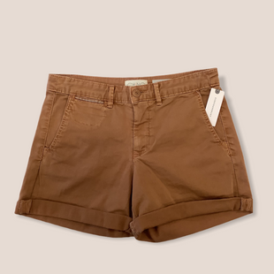 NWT ANTHROPOLIGE SHORTS - SIZE 26. BROWN.