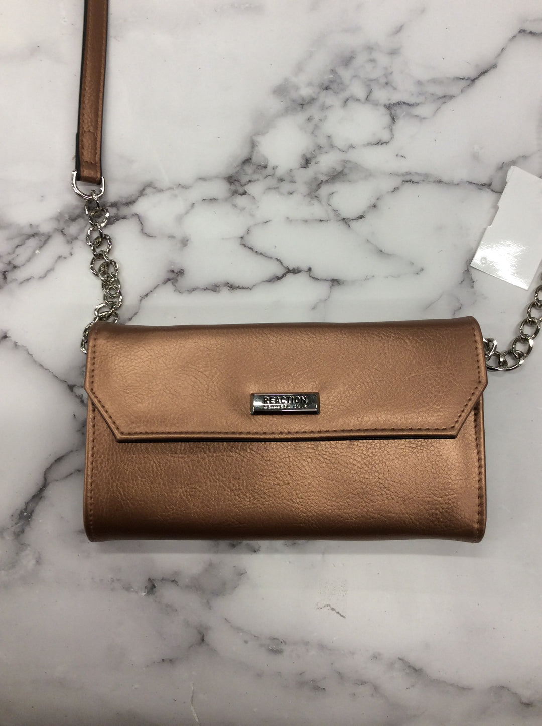 Kenneth Cole Reaction Crossbody Bag - <P>COPPER</P> <P>SMALL</P> <P>LENGTH: 8