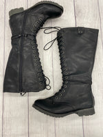Rock & Candy Knee Boots - <P>BLACK SIZE 8.5</P>