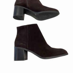 NWT Vince Camuto Booties - SIZE 10. BROWN. NEW WITH TAGS .