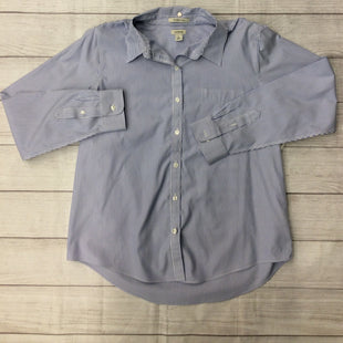 L.L. Bean Shirt -   L.L. BEAN BUTTON-UP SHIRT.  BLUE AND WHITE STRIPES.  FRONT POCKET.  SIZE LARGE. .
