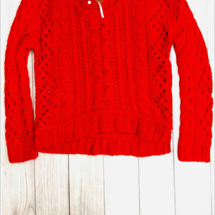 Free People Sweater - RED SIZE S.