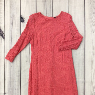 American Living Dress -   LONG SLEEVE, LACE DRESS.  SIZE 16.  CORAL. .
