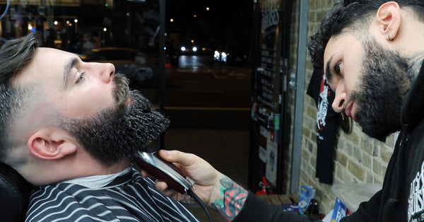 Epic Skin Fade Haircut & Beard Trim Video