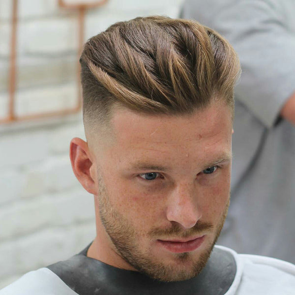 Man Short Haircut Frisuren Stil T