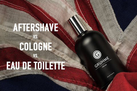 Aftershave vs Cologne vs Eau De Toilette - What Is The Difference?